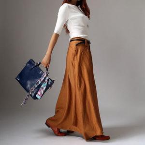 Dresses & Skirts - New Linen Maxi Skirt